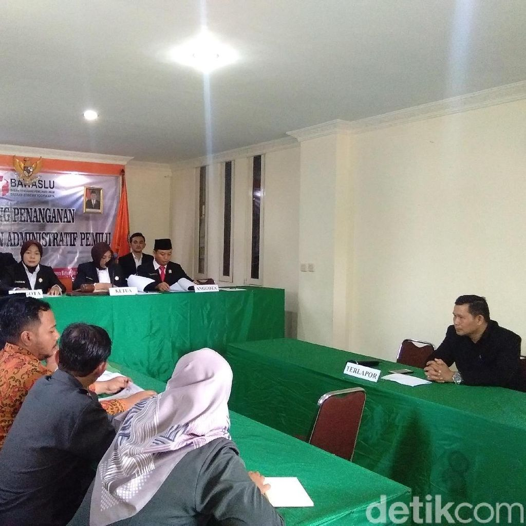 Kampanye Bermobdin, Ketua Gerindra Gunungkidul Dituntut Ringan