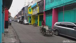 Menengok Jalan Panggung di Kota Tua Surabaya yang Kini Berwarna