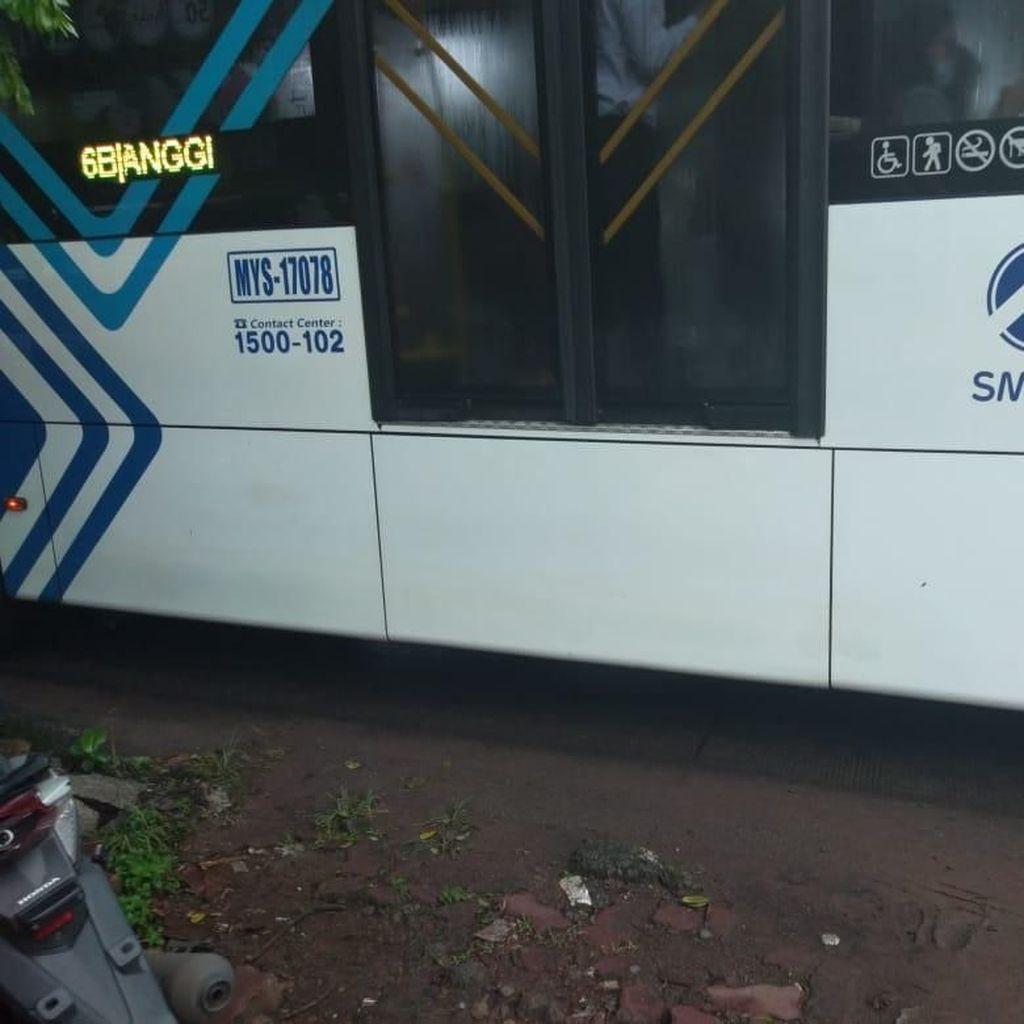 Coretan JKT DAY Dihapus, TransJ dan Jakmania Kutuk Vandalisme