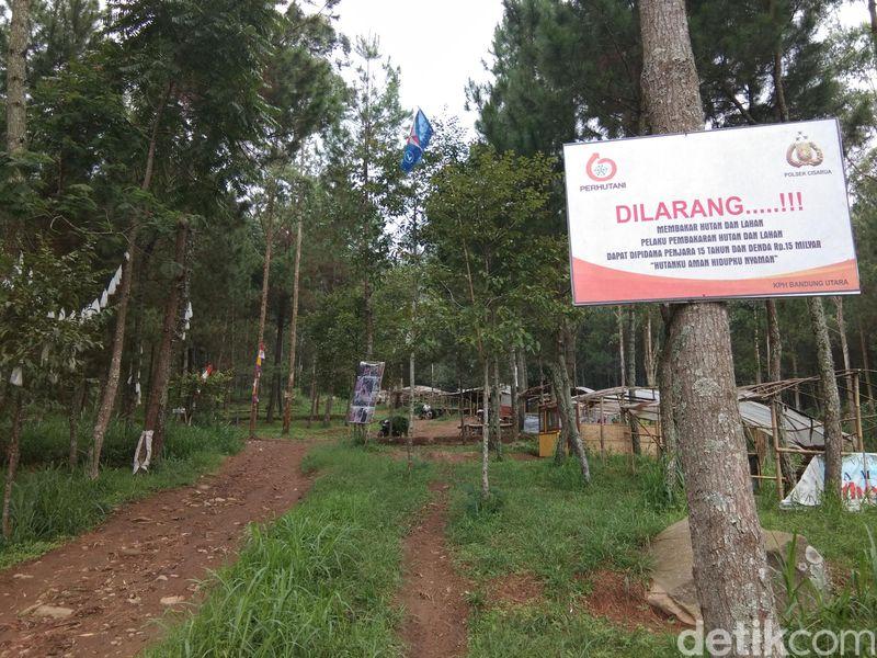 Gunung Burangrang berlokasi di perbatasan Bandung Barat dan Purwakarta. Kawasan gunung ini seringkali menjadi lokasi latihan Kopassus (Muhammad Idris/detikTravel)