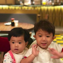 Potret Menggemaskan Uta dan Uti, Anak Nycta Gina-Rizky Kinos
