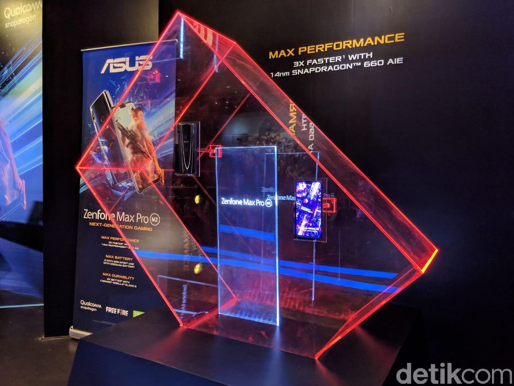 Inilah Zenfone Max Pro M2. (Foto: Adi Fida Rahman/detikINET)