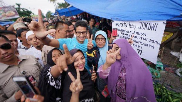 Poster dukungan untuk Jokowi