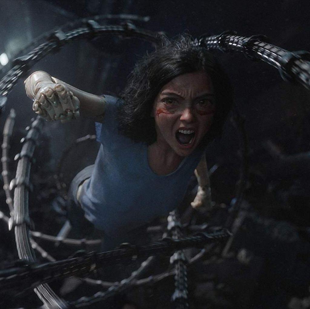 Alita: Battle Angel Suguhkan Petualangan Cyborg Realistis