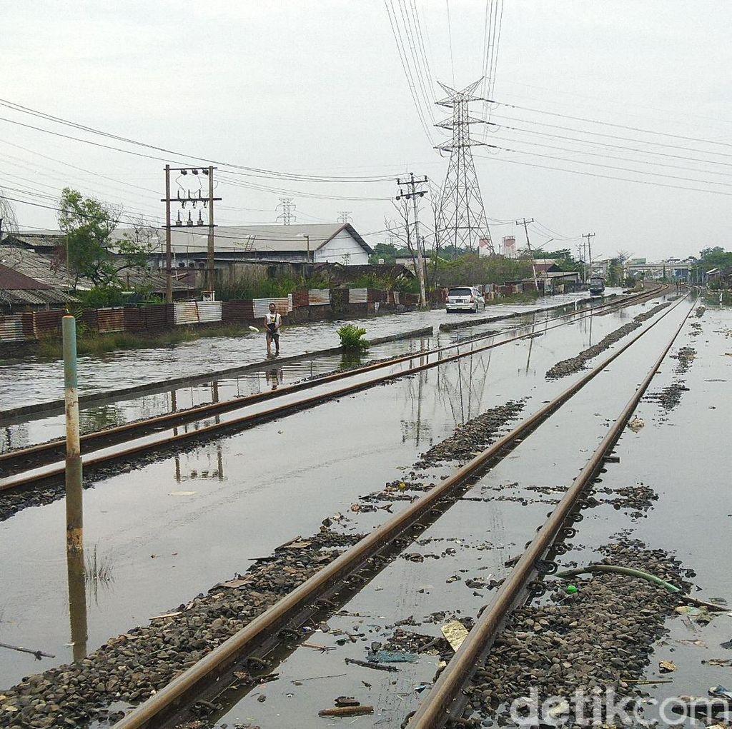 PT KAI Daop 4 Semarang Antisipasi 6 Titik Banjir Jelang Nataru