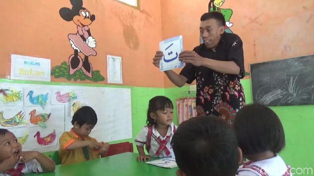 Mengenal Sriyono, Difabel Pendiri Sekolah Gratis di Blora