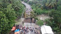 Jembatan Darurat Padang-Bukittinggi Belum Rampung, Uji Coba Ditunda