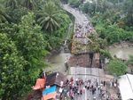 Jembatan Ambruk, Jalur Padang-Bukittinggi Terputus
