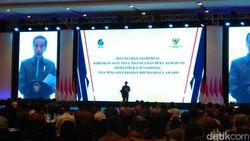 Jokowi Rilis Kebijakan Satu Peta dan Buku Infrastruktur Nasional