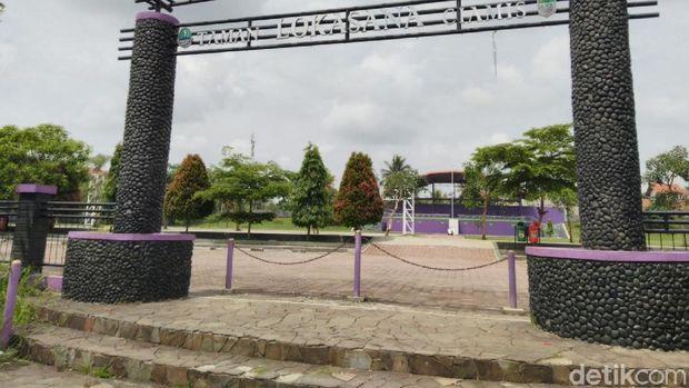Taman Losana bisa jadi alternatif untuk perayaan malam tahun baru di Ciamis
