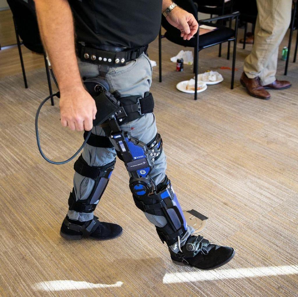 Exoskeleton untuk Ciptakan Prajurit Super