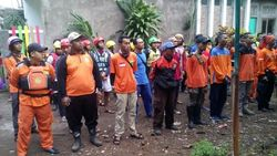Ratusan Personel Gabungan Cari Bocah Terseret Air Sungai di Malang