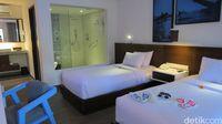Suasana kamar di Sol House Bali Kuta (Fitraya/detikTravel)