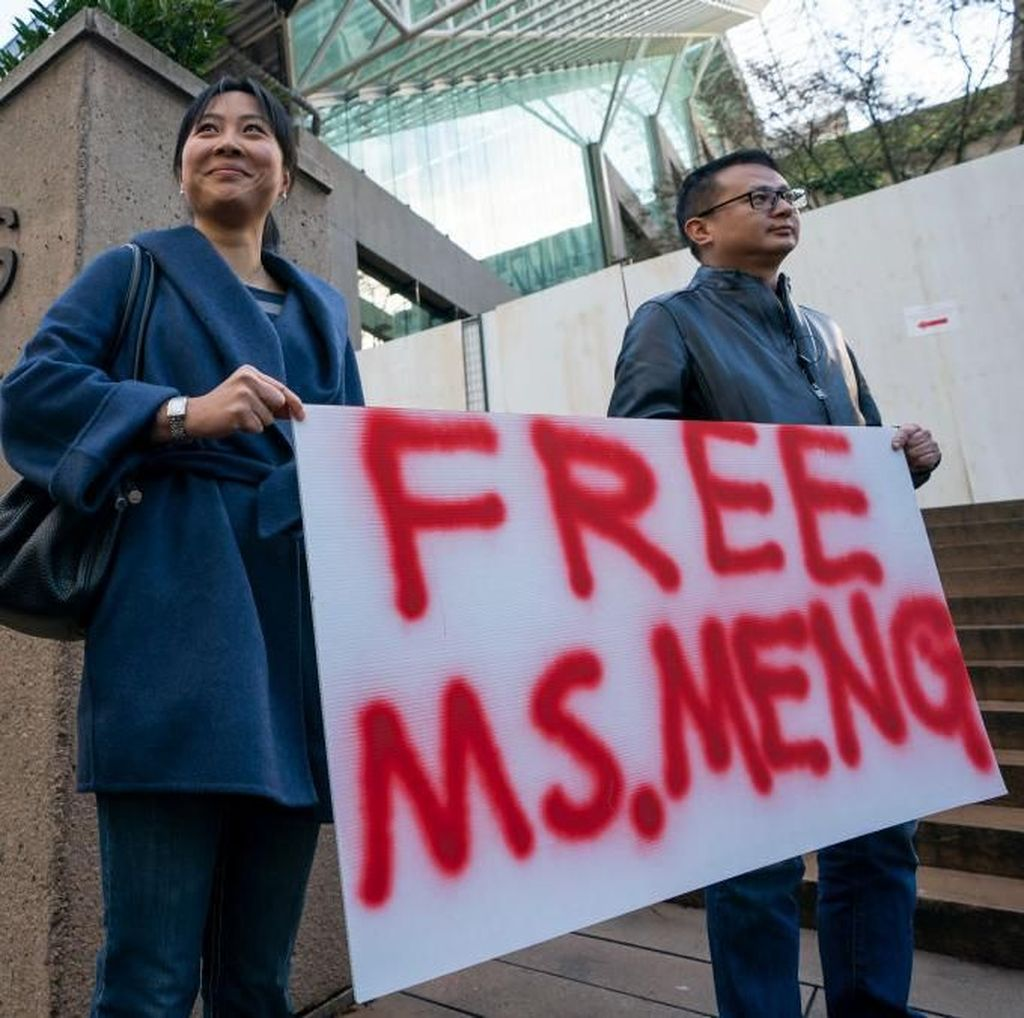 Saling Balas China vs Kanada Pasca Bos Huawei Ditangkap