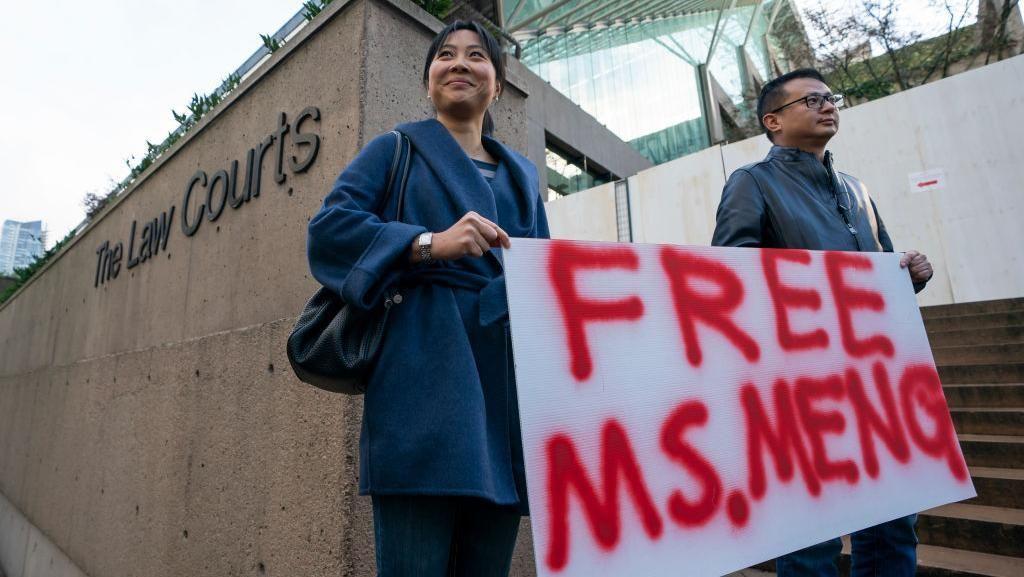 China Tangkap Warga Kanada, Buntut Kisruh Huawei?