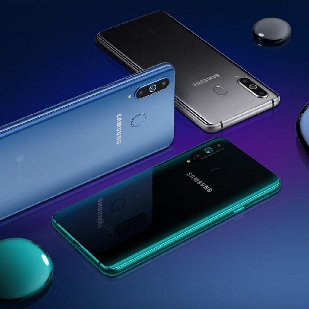 Galaxy A8s Resmi Dirilis, Usung Lubang Kamera di Layar