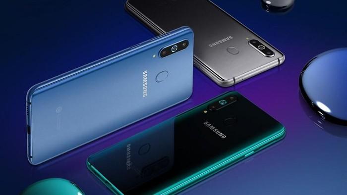 Samsung dituding berkolaborasi dengan merek palsu saat peluncuran Galaxy A8s (Foto: Samsung)