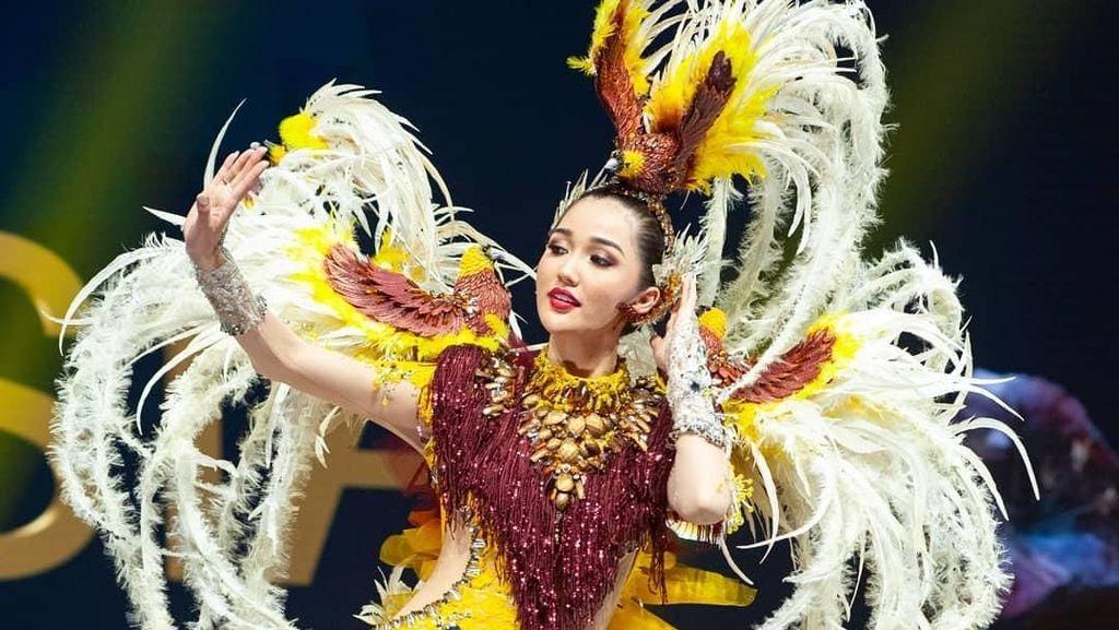 Keren! Kostum Nasional Indonesia di Miss Universe 2018 Jadi Favorit Juara