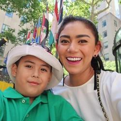 Bonding Seru Ala Thalita Latief dan Putranya