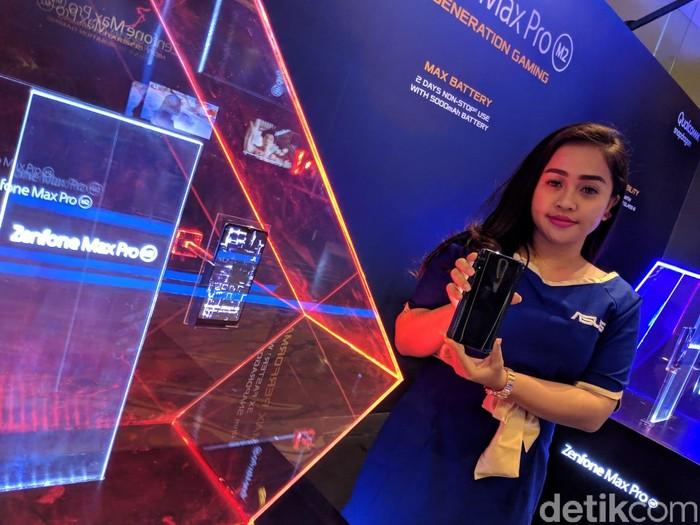 Asus Zenfone Max Pro M2 (Foto: Adi Fida Rahman/detikINET)