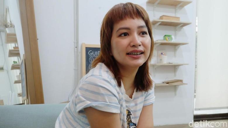 Anya Rompas Bakal Tulis Buku Hasil Pengalaman Residensi Foto: Tia Agnes/ detikHOT