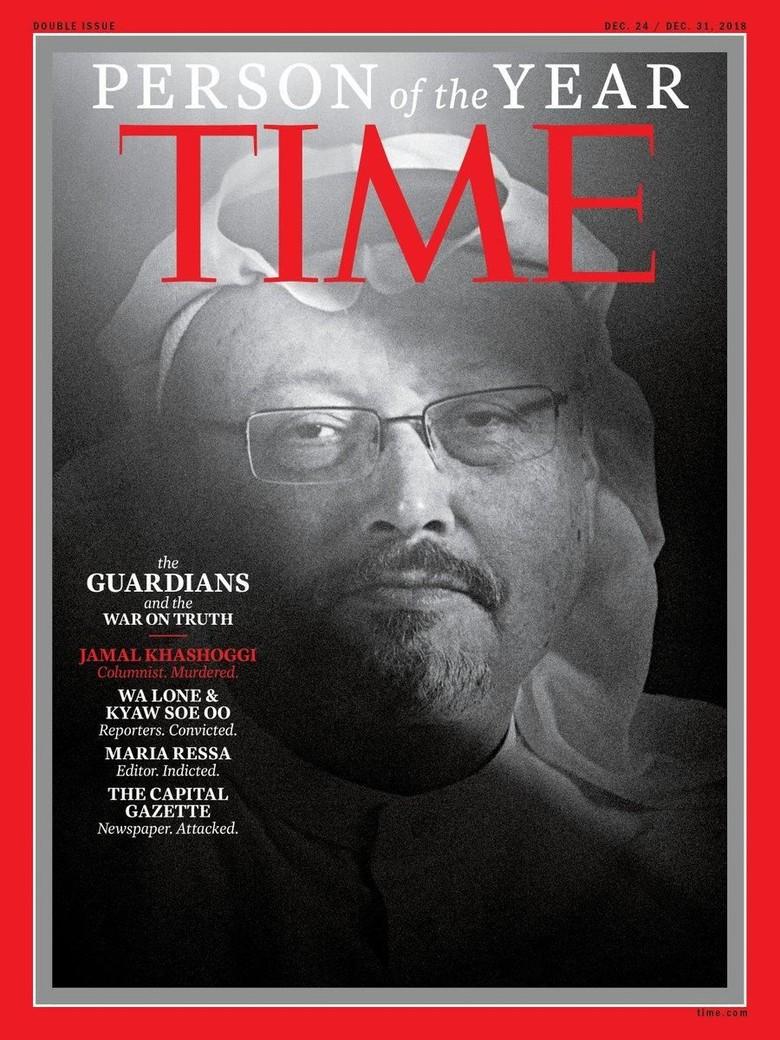 Khashoggi dan Sekelompok Jurnalis Jadi TIME Person of the Year 2018