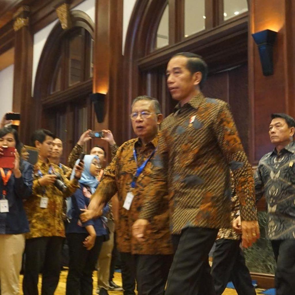 Jokowi Hadiri Peluncuran Kebijakan Satu Peta
