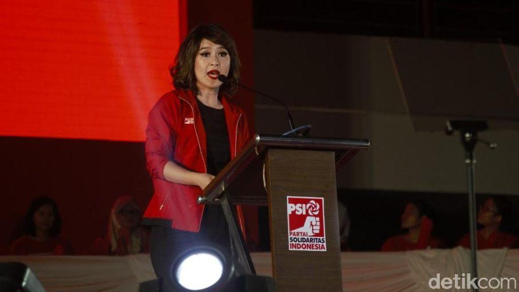 Grace Natalie Bertemu Jokowi di Istana, Bahas Menteri?