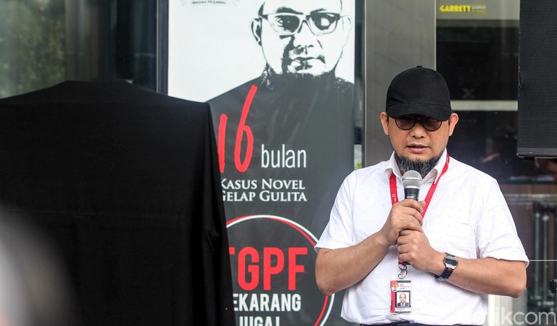Pihak Novel Heran Polri Bentuk Tim Gabungan Jelang Debat Pilpres