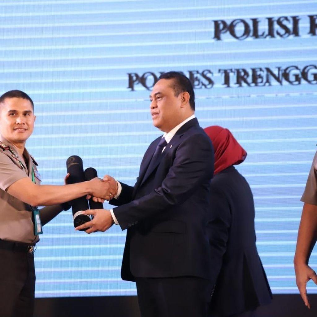 Selain Berstatus WBK, Polres Bojonegoro Berpredikat Baik