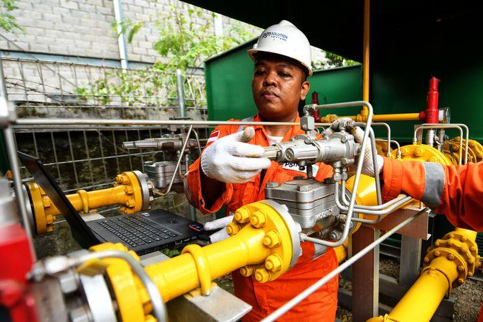 Ilustrasi pipa gas/Foto: dok. PGN