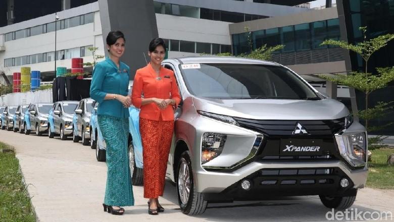 Xpander jadi mobil operasional Garuda Indonesia Foto: Mitsubishi