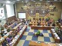 Lagi Serius Bahas Defisit BPJS, Menkes Ajak Senam Anggota DPR