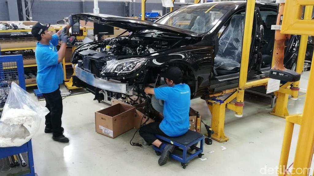 Mercy Mau Rakit SUV di Indonesia