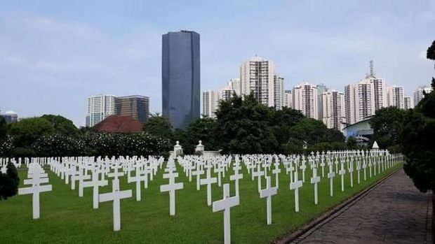 Mengenal Pemakaman Menteng Pulo yang Didatangi Raja Belanda