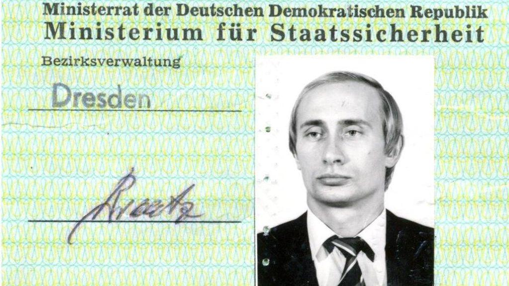 Kartu Identitas Intelijen Vladimir Putin Ditemukan di Jerman