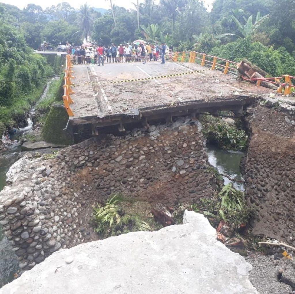 Ini Dia Jembatan Temporer Penyambung Jalur Padang-Bukittinggi