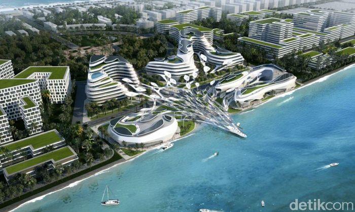 Desain kota terbaru tersebut dirancang oleh studio design CAA Architecs. Istimewa/CAA Architecs/Inhabitat.