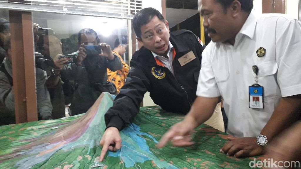 Pantau Aktivitas Gunung Agung, Jonan: Bali Aman