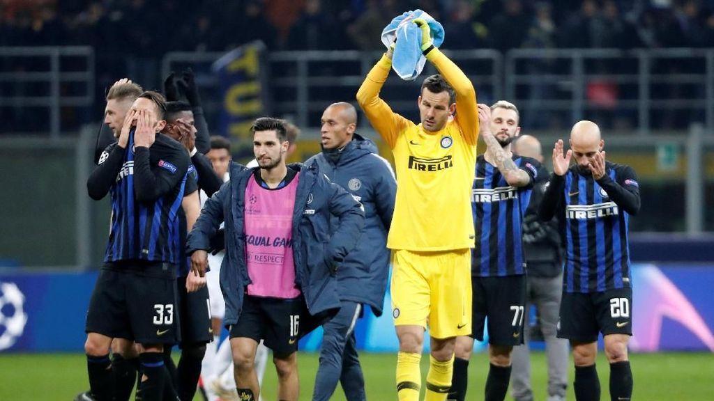 Sudah Dibantu Barcelona, Inter Tetap Tak Lolos