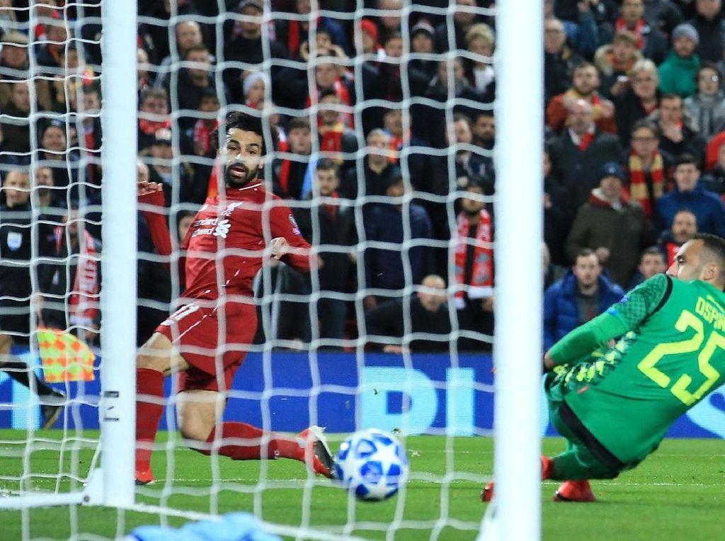 Video: Gol Salah dari Sudut Sempit yang Loloskan Liverpool