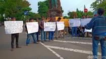 Jurnalis Mojokerto dan Kediri Kompak Protes Pernyataan Prabowo