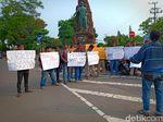 Jurnalis Mojokerto dan Kediri Kompak Protes Penyataan Prabowo