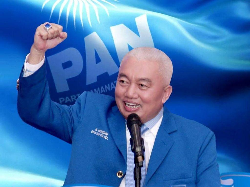 Drama Ketua PAN Kalsel Masuk Timses Jokowi