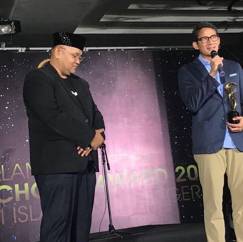 Maruf dan Sandi Jadi Tokoh Inspiratif Versi Moeslim Choice 2018