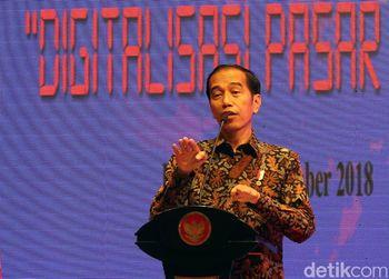 Jokowi Beberkan Hasil 'Sulap' Pasar Becek