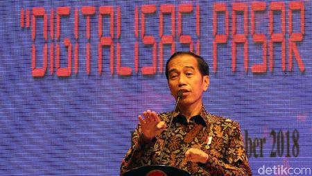 Jokowi Beberkan Hasil Sulap Pasar Becek