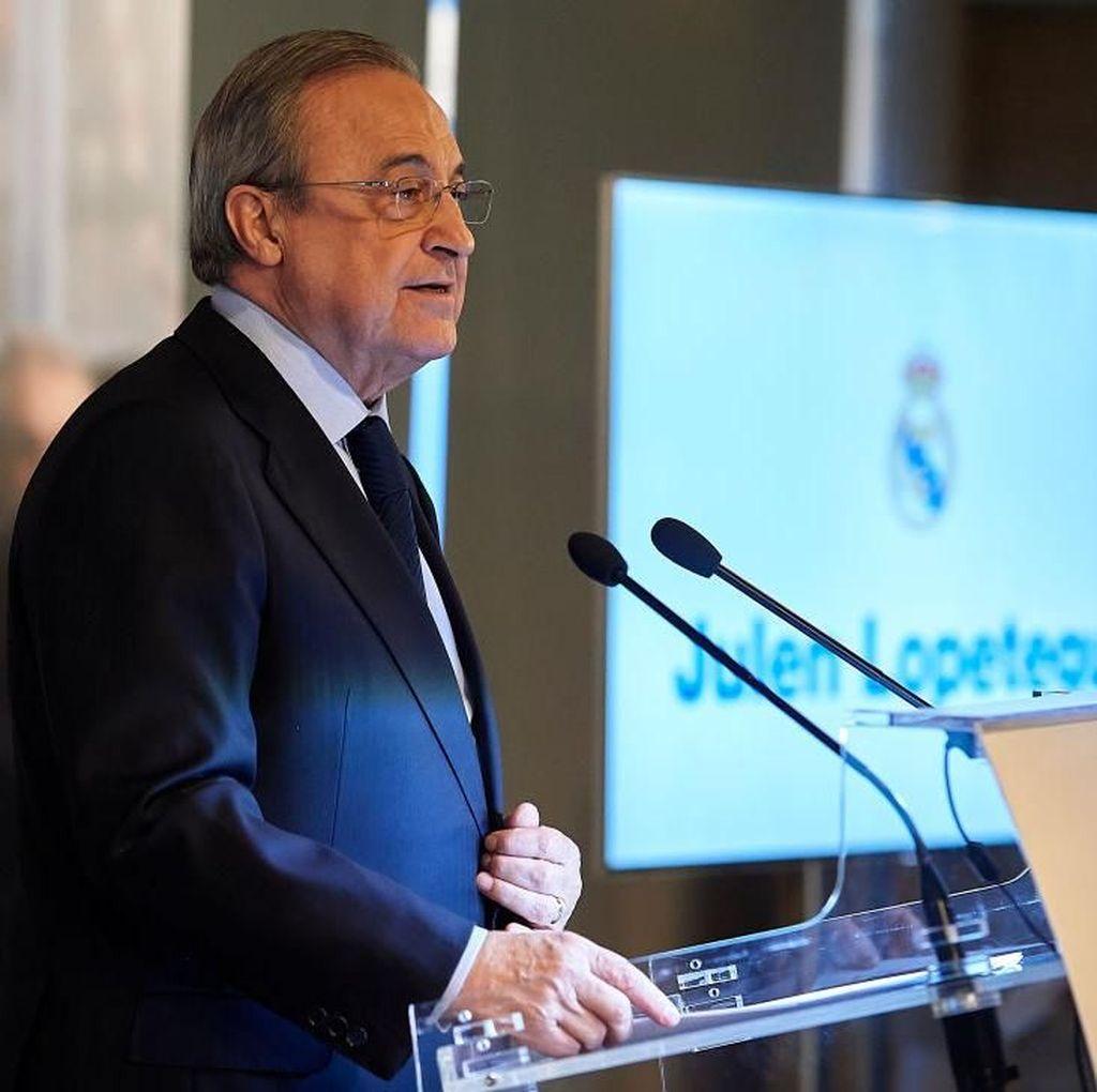 Madrid Puasa Gelar, Florentino Perez Dituntut Mundur