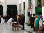 Lantik Wali Kota Cirebon, Ridwan Kamil Ingatkan Integritas