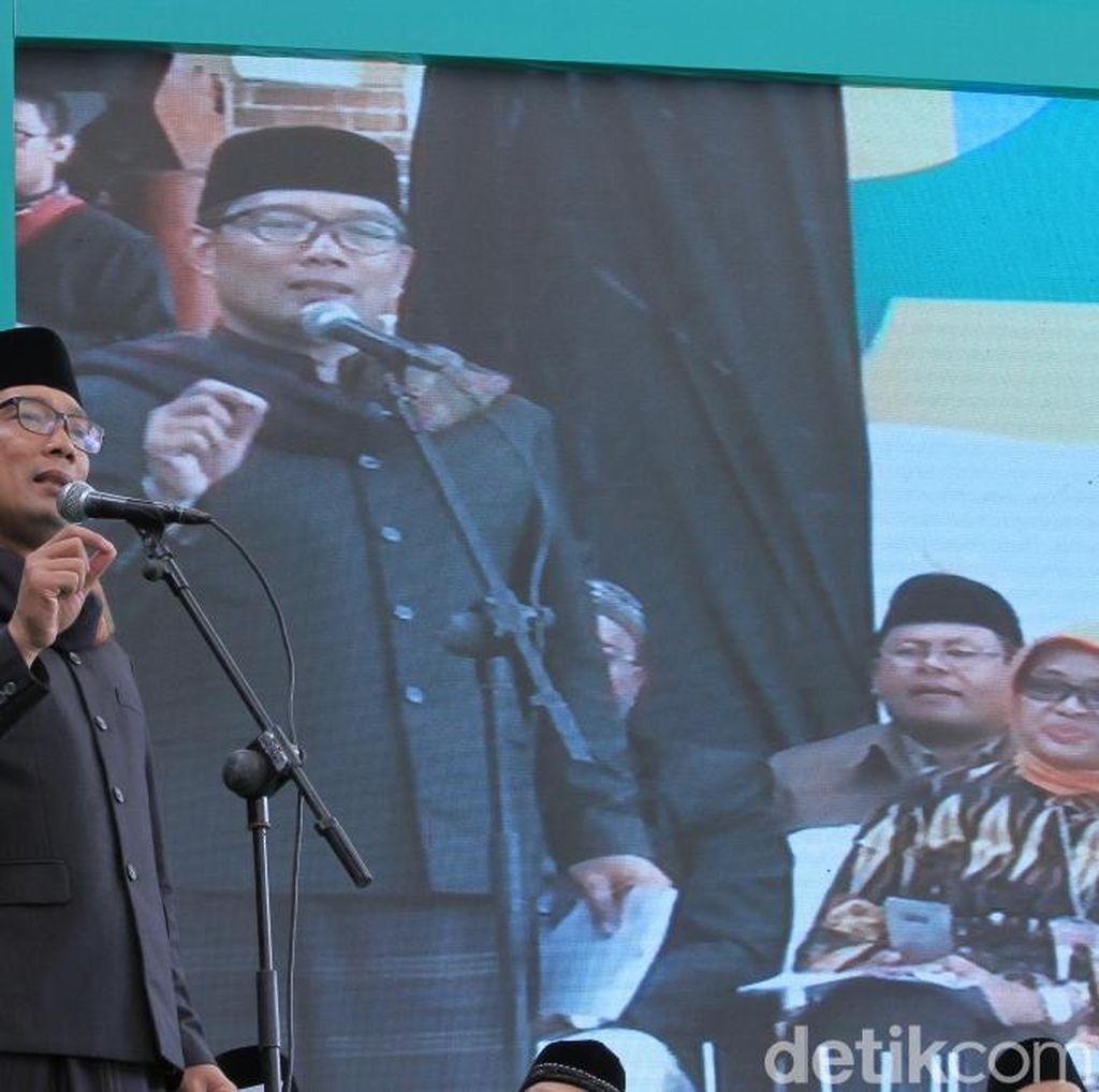 Ridwan Kamil Klaim Gubernur Paling Banyak Meluncurkan Program